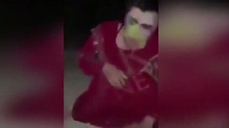 Kadın kılığına giren YPG'li terörist kaçarken yakalandı
