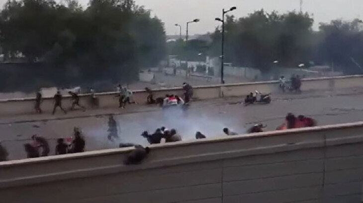 Irak'ta hükümet karşıtı gösteriler devam ediyor