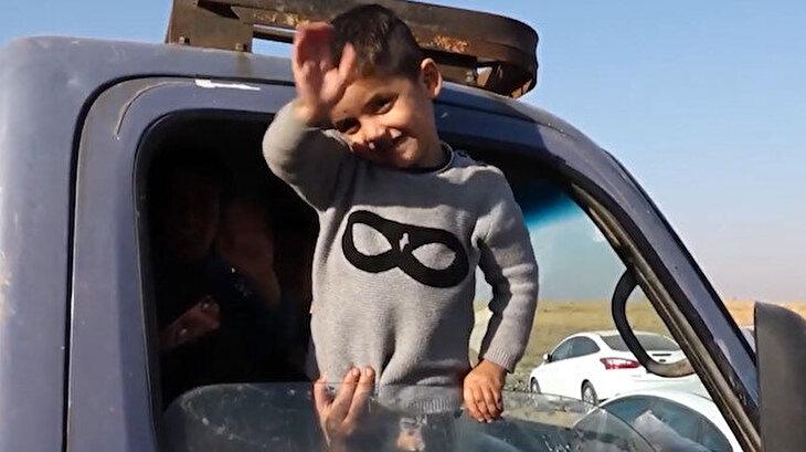 Suriyeli vatandaşlar evlerine yerleşmeye başladı