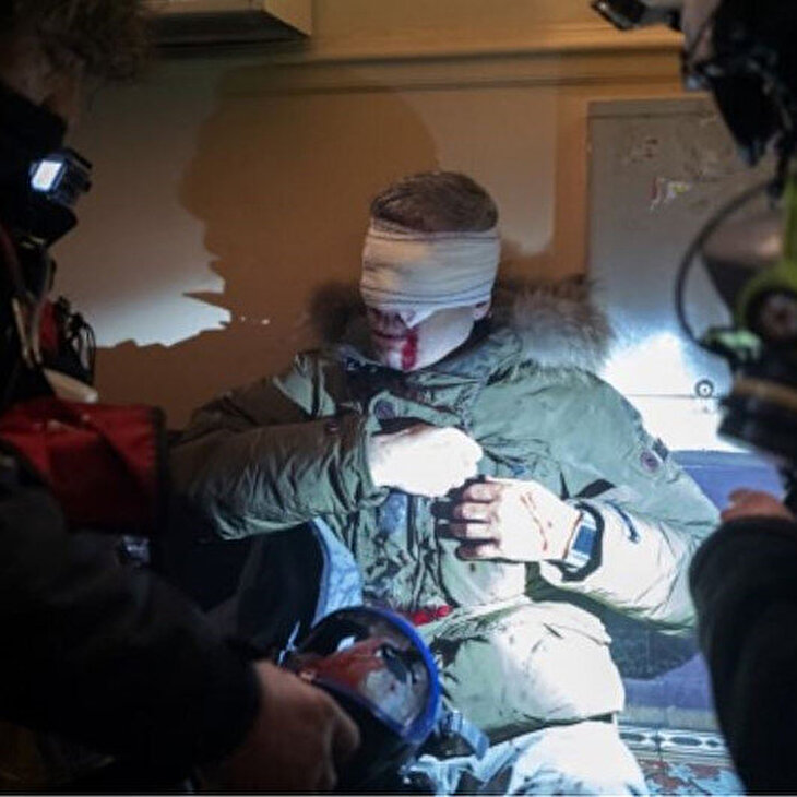 Fransada kaos sürüyor: Fransız polisi iyice barbarlaştı