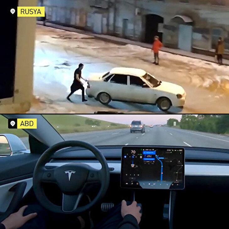 Rusya ve ABD'nin sürücüsüz otomobil kıyaslaması