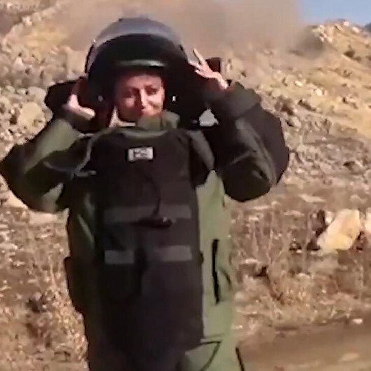 Jandarma'dan 'Esma Çevik' paylaşımı: Parfüm kokusu değil barut kokusu