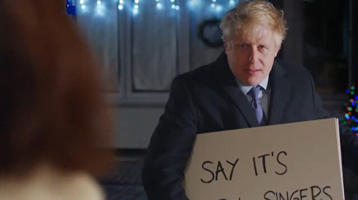 İngiltere Başbakanı Boris Johnson'dan seçim için iddialı reklam filmi