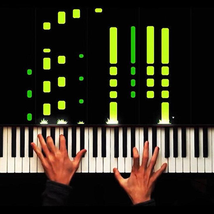 Payitaht Abdülhamid dizisinin duygusal fon müziği piyano performansı