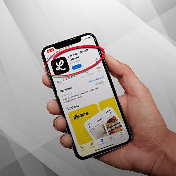 Lokma, AppStore'da da zirvede: 'Öne çıkanlara eklendi!'