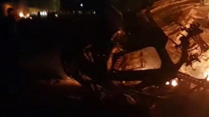 Havaalanına düzenlenen füze saldırısıyla Kasım Süleymani öldürüldü