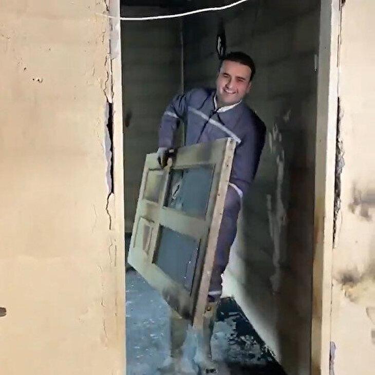 CZN Burak yangın faciası yaşayan ailenin evini yeniledi