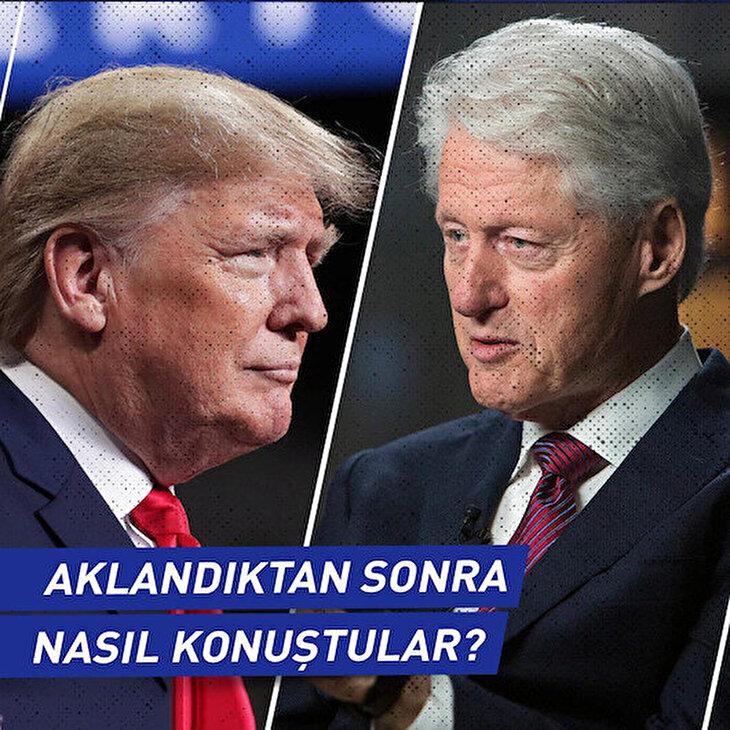Trump ve Clinton 'aklandıktan sonra' nasıl konuştu?
