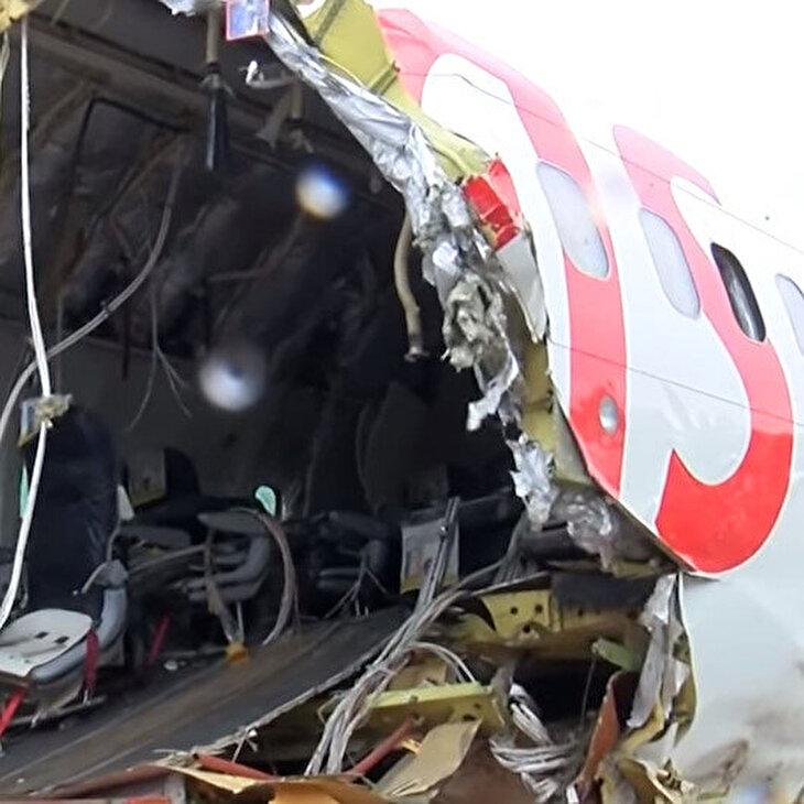 Pistten çıkan uçağın enkazı kaldırıldı: Kara kutu Almanya'ya gönderildi