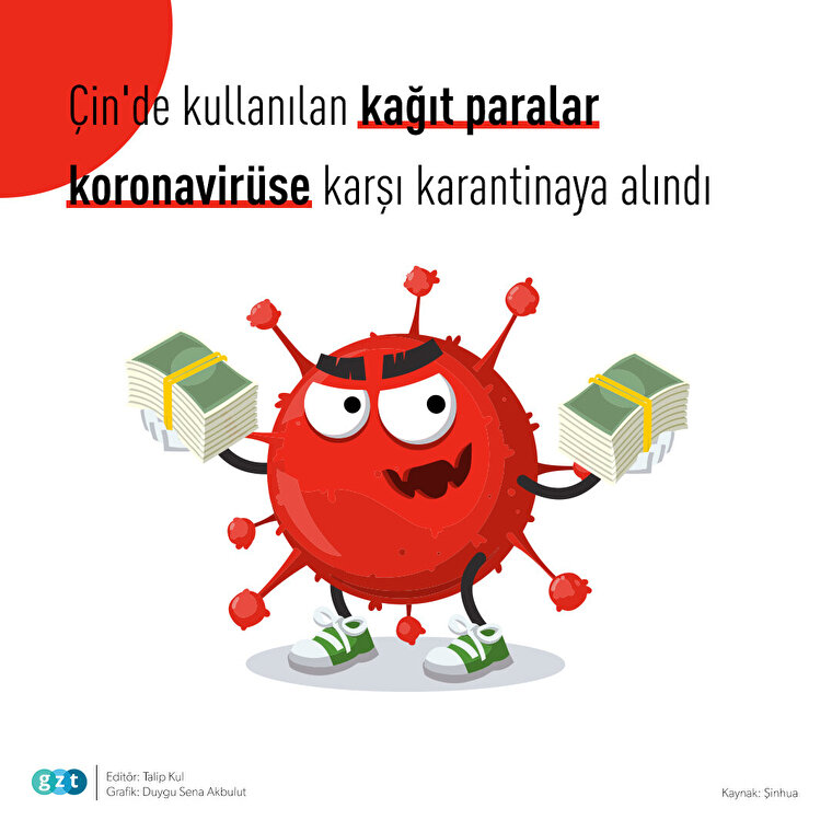 🦠 Koronavirüse karşı banknotlara karantina 💸