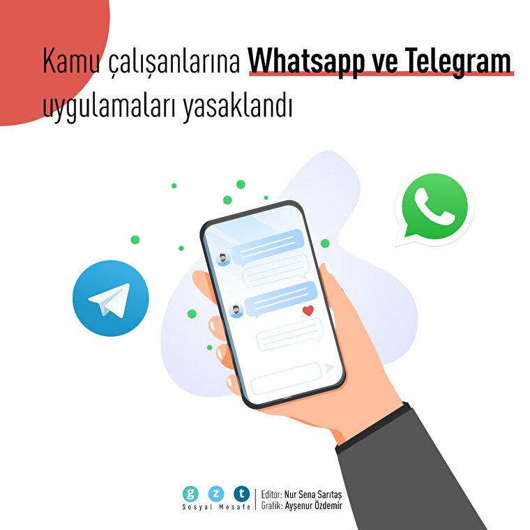 Kamu personellerine Whatsapp ve Telegram yasağı