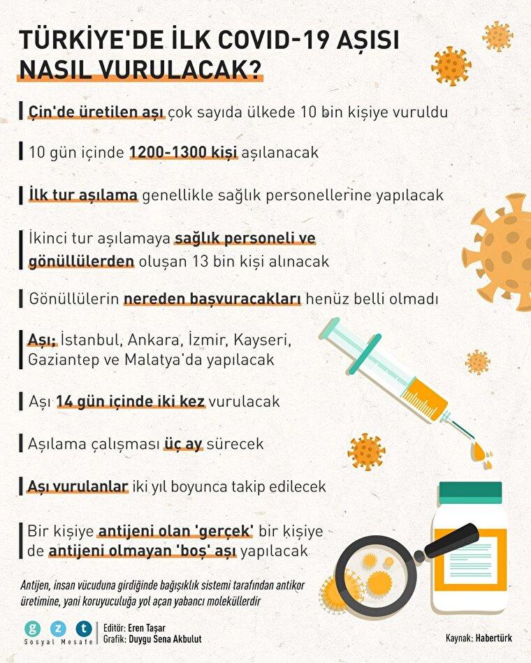 Türkiye'de koronavirüs aşısı nasıl vurulacak?