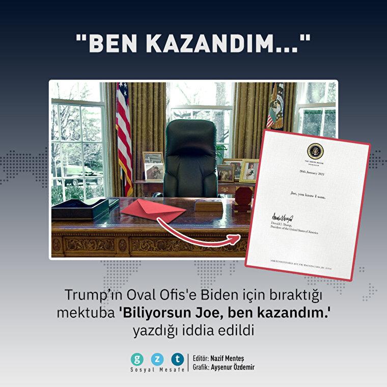 Trump'ın mektubu