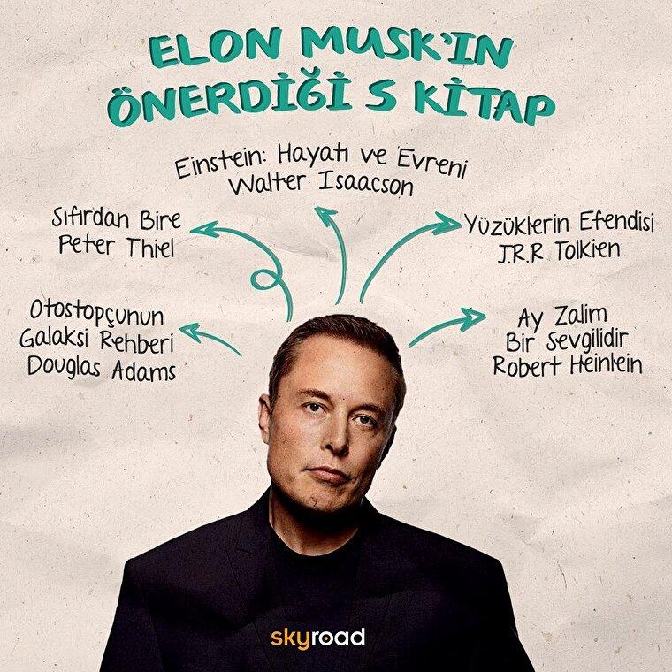 Elon Musk'ın önerdiği 5 kitap 📚