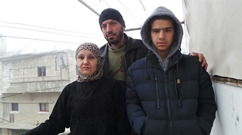 Halep'te mahsur kaldılar
