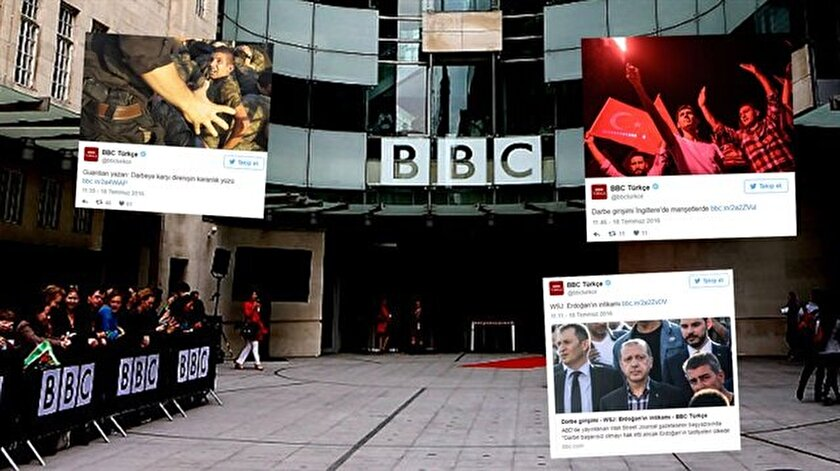 BBC Türkçe darbe yayınına devam ediyor