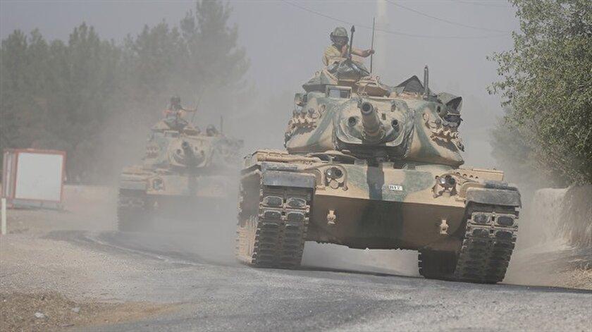 Suriyede 32 köy teröristlerden temizlendi