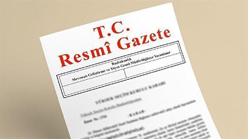 Özelleştirme Yüksek Kurulunun taşınmazlara ilişkin kararları Resmi Gazete'de yayımlandı.