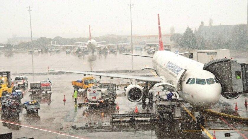 Tüm uçuşlar iptal