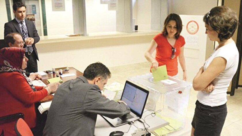 Yurtdışındaki seçmenin oyları belirleyici olacak