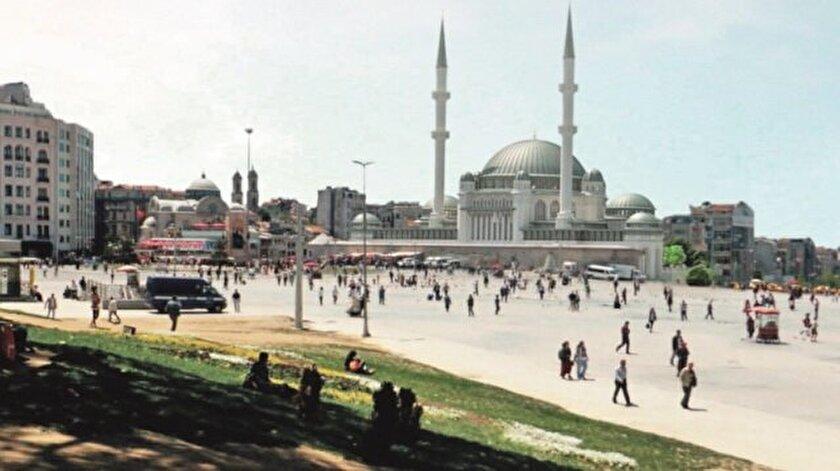 Taksime camiyi Külliyenin mimarı yapacak