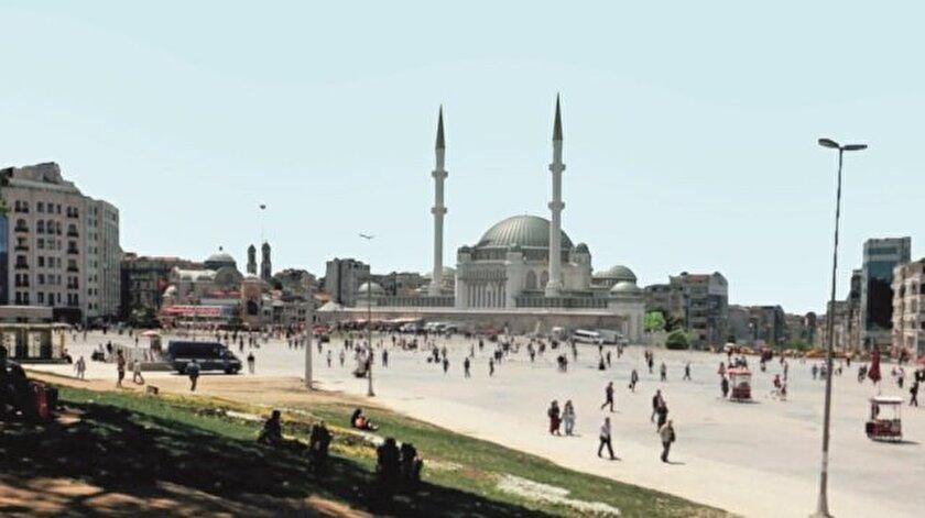 Taksim Camii 2018 Ramazan'da açılacak