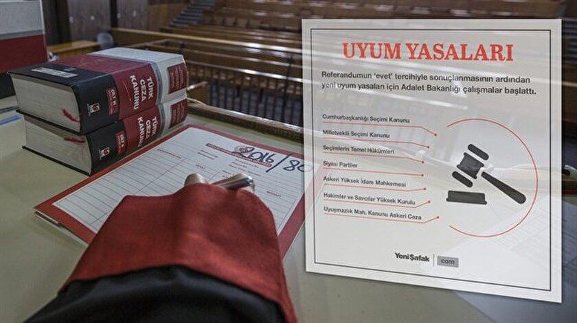 Referandumun ardından uyum yasaları için atılacak adımlar