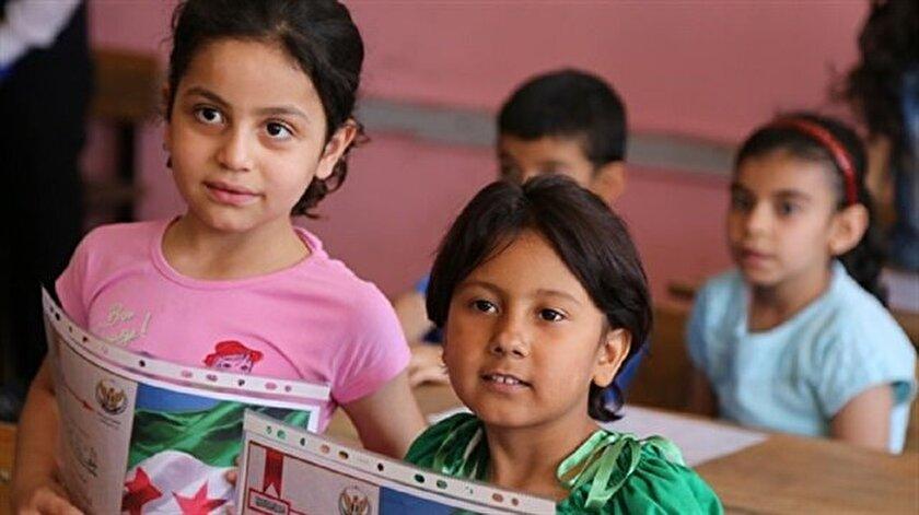 Suriyeli çocuklar için telafi eğitimi