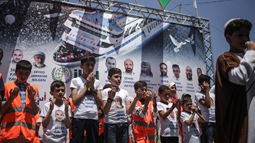 Gazze Mavi Marmarayı unutmadı