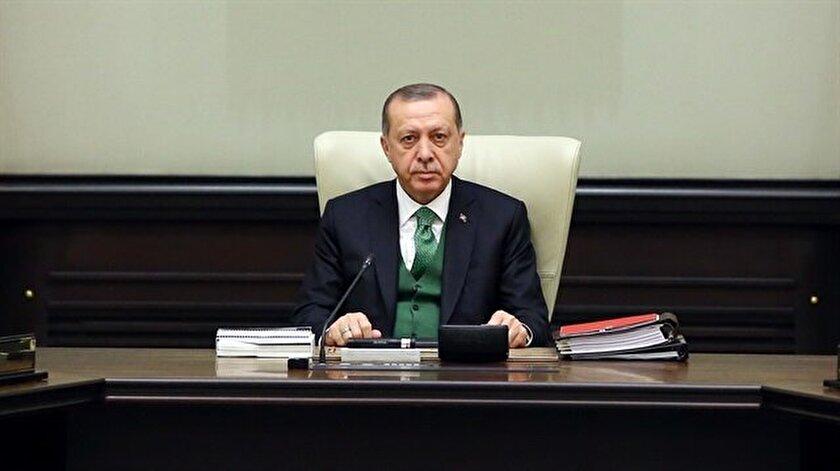 MGK Cumhurbaşkanı Erdoğanın başkanlığında toplandı