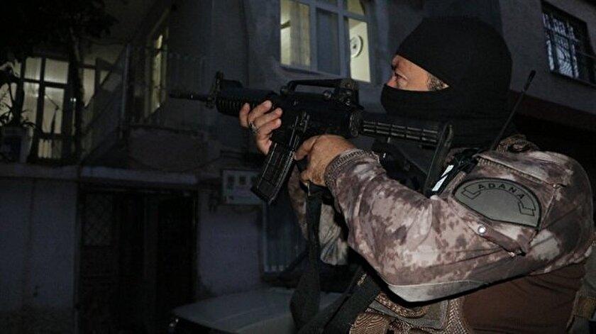 Adanada PKK'ya operasyon: 16 gözaltı