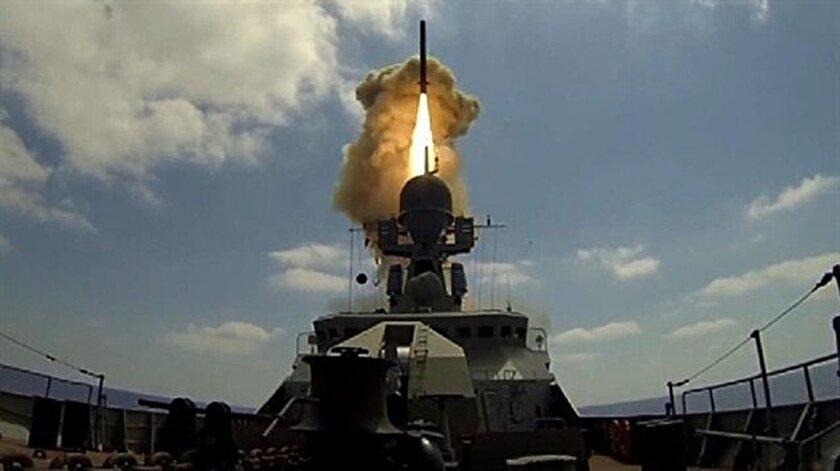 Rusya Palmirayı füzelerle vurdu