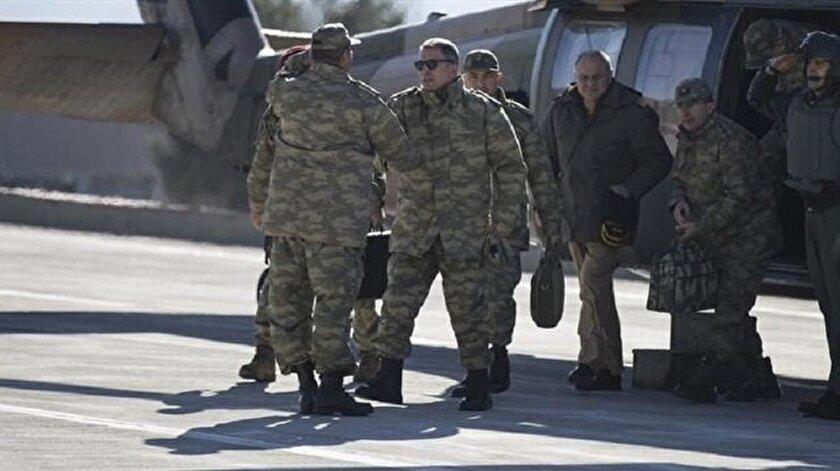 Genelkurmay Başkanı Akar, Şırnaka gitti