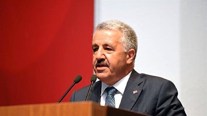 Ulaştırma Denizcilik ve Haberleşme Bakanı Arslan,