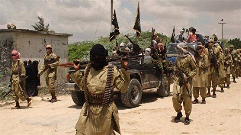 Terör örgütü Eş-Şebab üyeleri