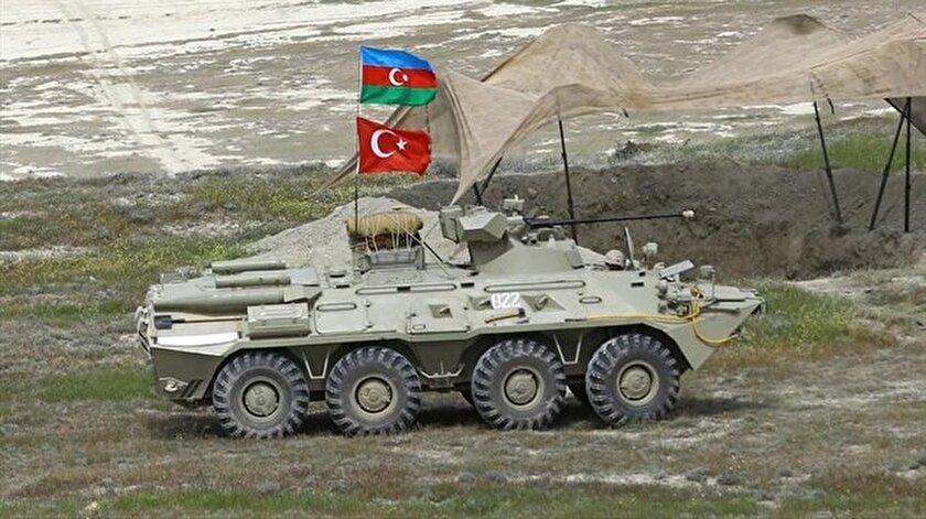 Türkiye ve Azerbaycandan Nahçıvanda askeri tatbikat