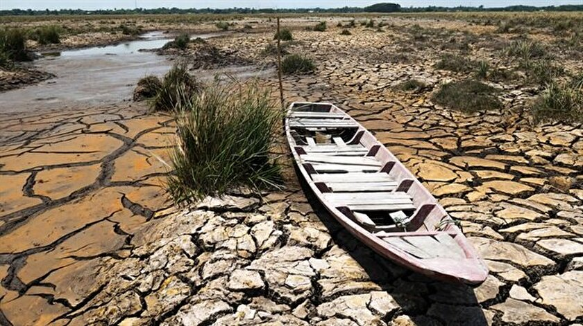 Kuraklık tehlikesiyle karşı karşıya olan Türkiye'de yarım asırda 36 tane göl kurudu.