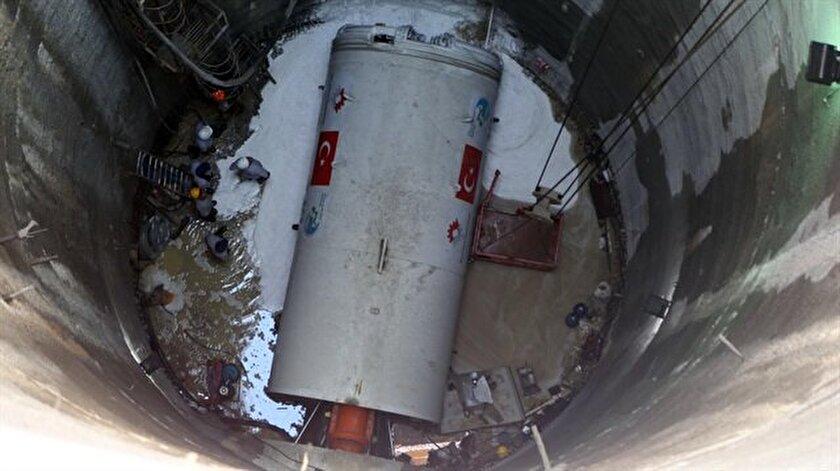 İlk yerli tünel açma makinesini faaliyete geçti.