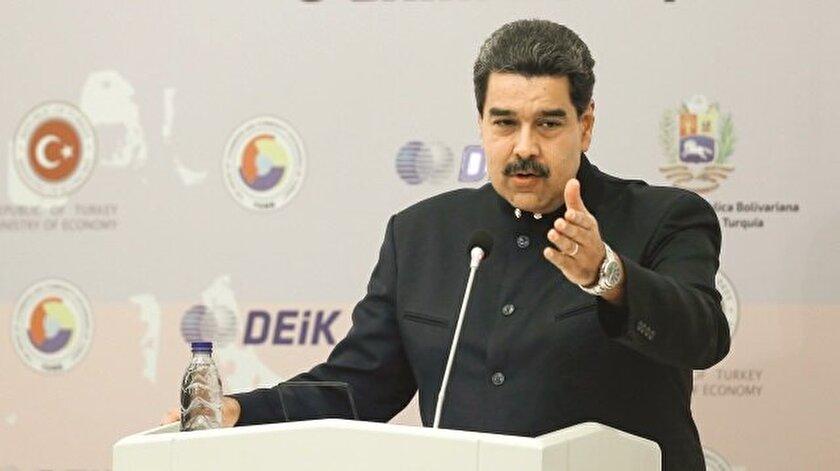 Venezuela Devlet Başkanı Nicolas Maduro
