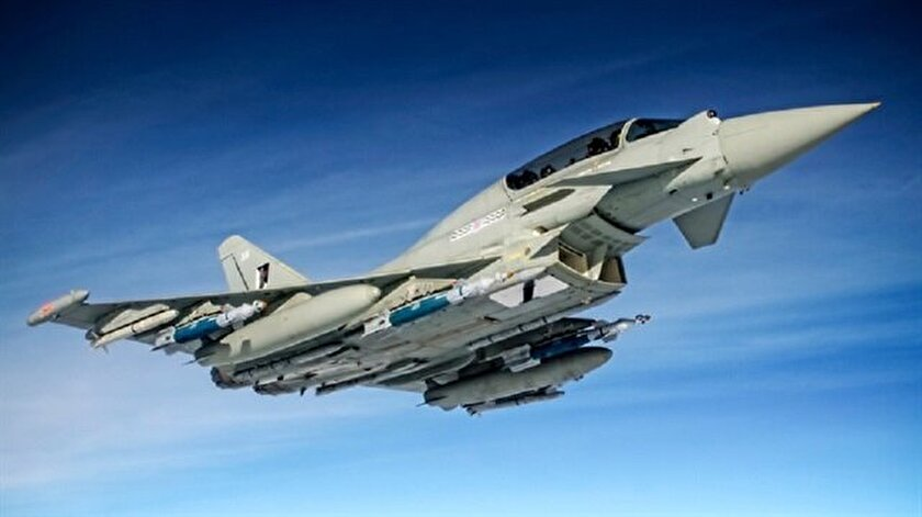 Eurofighter Typhoon tipi uçak