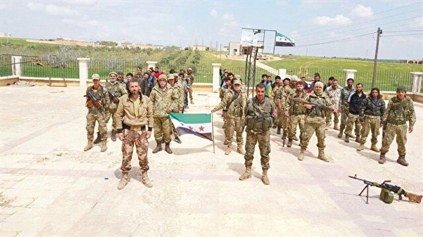 Suriyede kurulan milli orduda kimler yer alıyor?