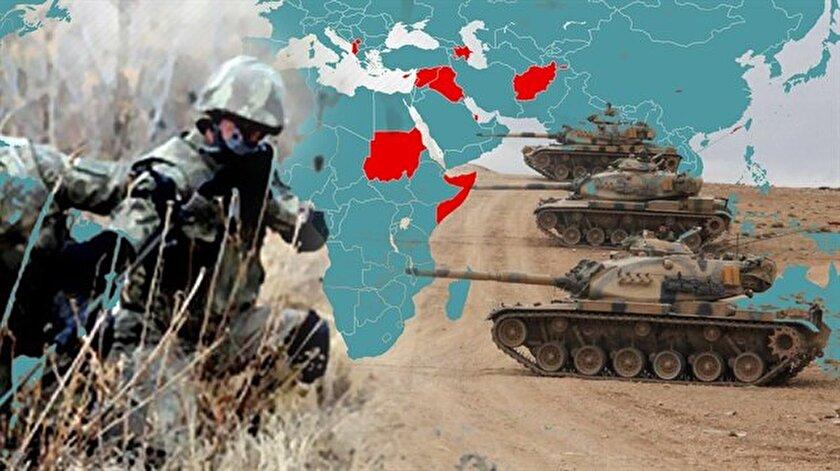 Türkiyenin yurt dışındaki askeri üsleri! Türkiyenin kaç tane askeri üssü var