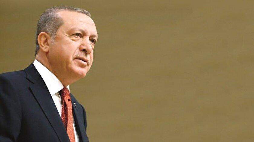 İran'daki gösterilerin dışarıdan provoke edildiğini belirten Cumhur- başkanı Erdoğan, yaşananları Gezi olaylarına benzetti.