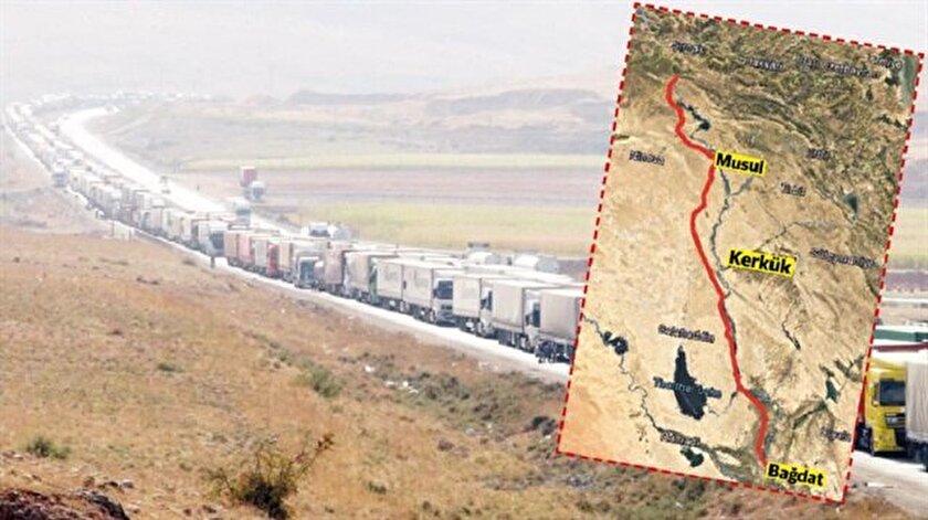 Siyasi nedenlerle ticaretin sık sık durduğu ve kilometrelerce TIR kuyruklarına şahitlik ettiğimiz Kuzey Irak'taki ticaret yoluna alternatif güzergahlar üzerinde çalışılıyor.