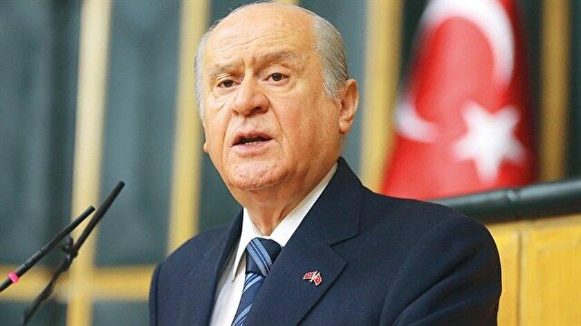MHP Genel Başkanı Devlet Bahçeli, cumhurbaşkanlığı seçiminde Recep Tayyip Erdoğan'ı destekleyeceklerini söyledi.