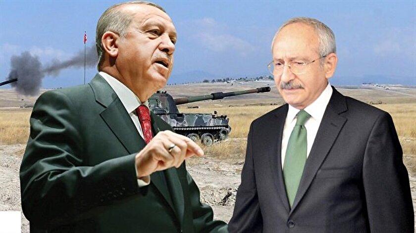 Cumhurbaşkanı Recep Tayyip Erdoğan'dan CHP Genel Başkanı Kemal Kılıçdaroğlu'na yerli silah tepkisi.