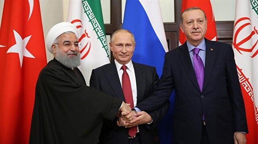 Geçtiğimiz aylarda Cumhurbaşkanı Recep Tayyip Erdoğan, Rusya Devlet Başkanı Vladimir Putin ve İran Cumhurbaşkanı Hasan Ruhani Soçi'de bir araya gelmişti.