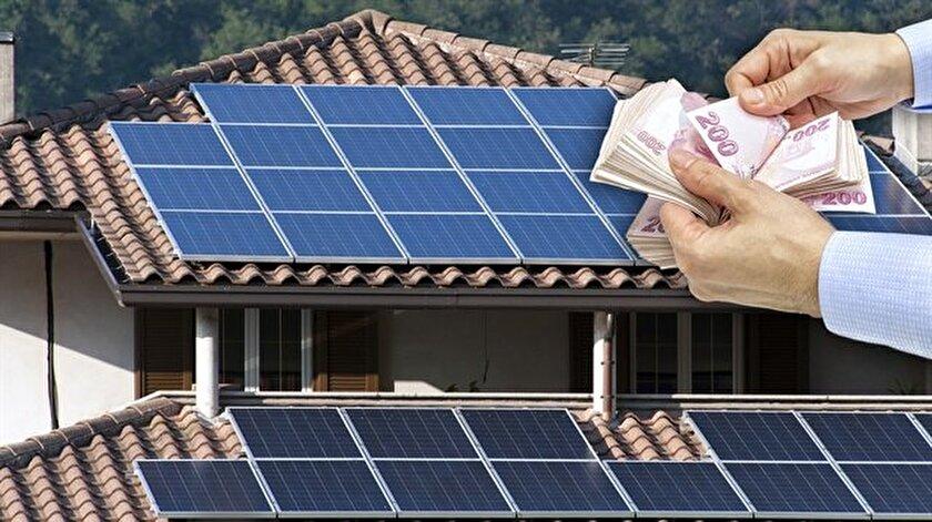 Çatıda üretilen elektriğe vergi muafiyeti geldi.