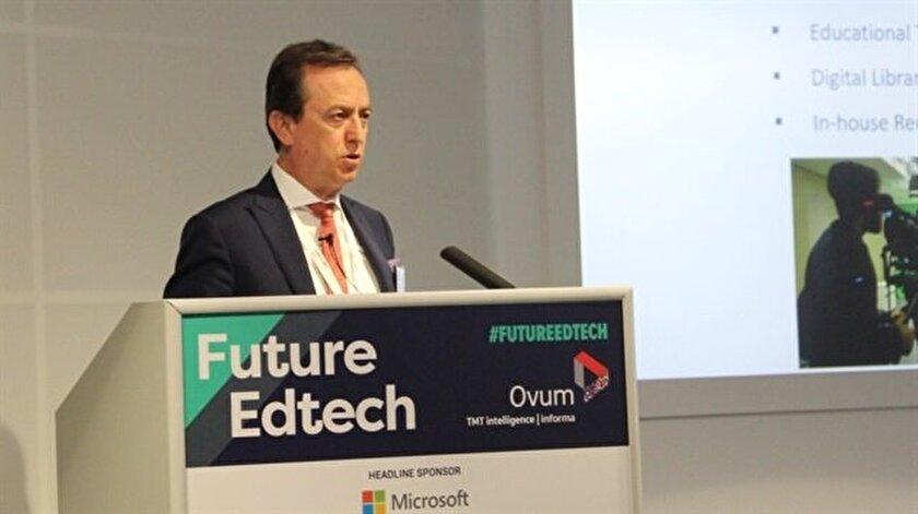 MEF Üniversitesi Rektörü Prof. Dr. Muhammed Şahin Flipped Learning'i anlattı.