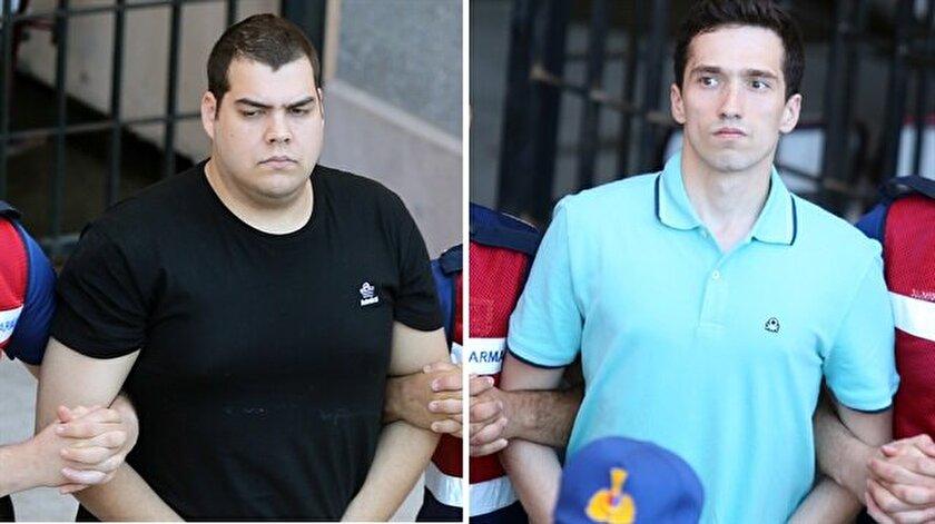 Yunan askerlerin tutukluluğuna devam kararı verildi.